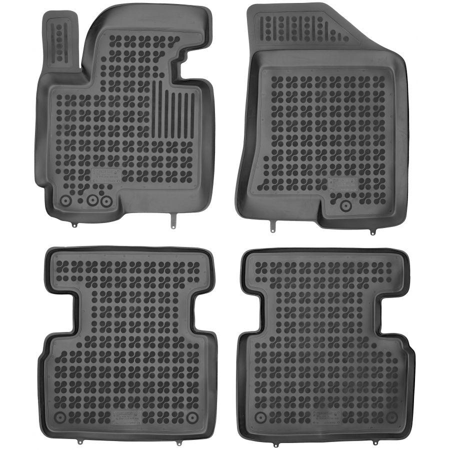 Guminiai kilimėliai KIA Sportage III 2010-2016 (Paaukštintais kraštais)