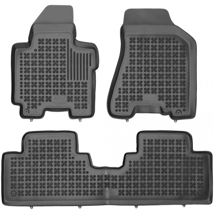 Guminiai kilimėliai KIA Sportage II 2004-2010 (Paaukštintais kraštais)
