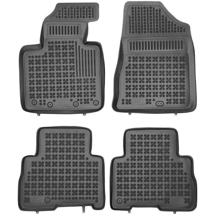 Guminiai kilimėliai KIA Sorento II 2012-2014 (Paaukštintais kraštais)