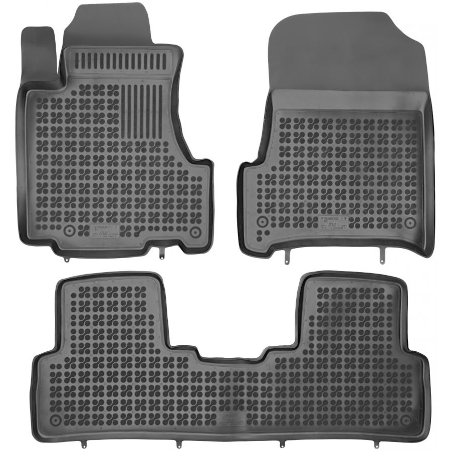 Guminiai kilimėliai HONDA CRV III 2007-2012 (Paaukštintais kraštais)