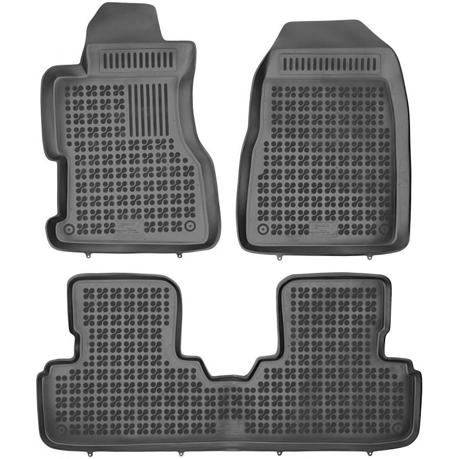 Guminiai kilimėliai HONDA Civic 3 durų 2001-2005 (Paaukštintais kraštais)