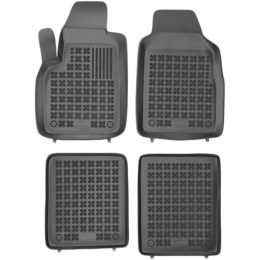 Guminiai kilimėliai FIAT Panda II 2003-2012 (Paaukštintais kraštais)