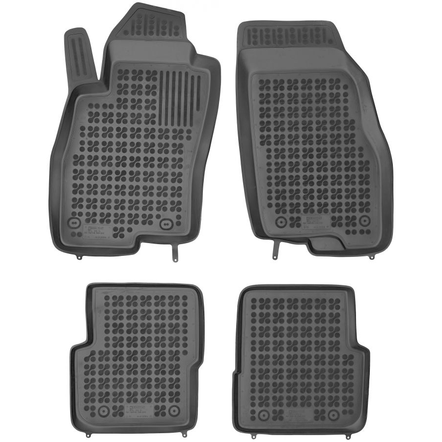 Guminiai kilimėliai FIAT Punto III 2012→ (Paaukštintais kraštais)