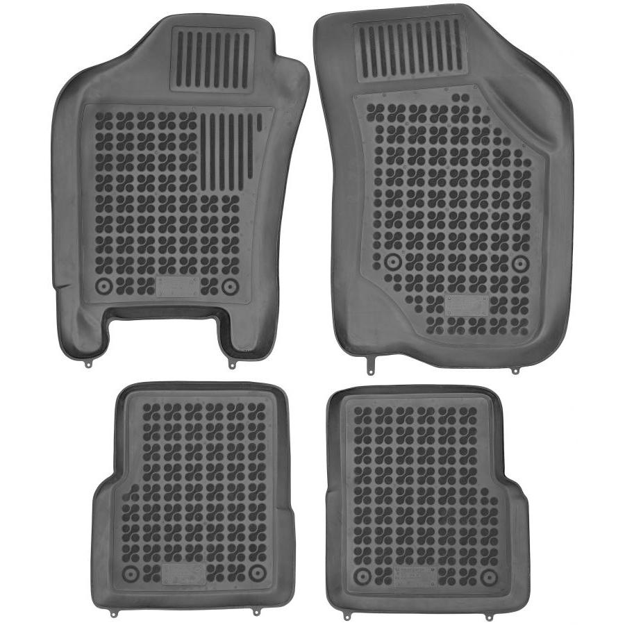Guminiai kilimėliai FIAT Albea 2002-2012 (Paaukštintais kraštais)