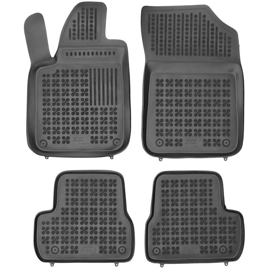 Guminiai kilimėliai CITROEN DS3 3 durų 2009-2016 (Paaukštintais kraštais)