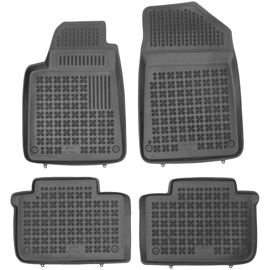 Guminiai kilimėliai CITROEN C6 2005-2012 (Paaukštintais kraštais)