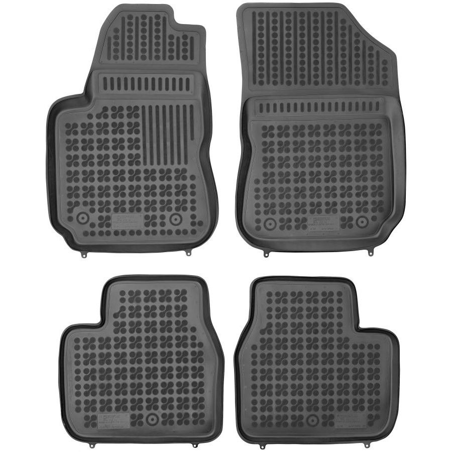 Guminiai kilimėliai CITROEN C4 Cactus 2014→ (Paaukštintais kraštais)