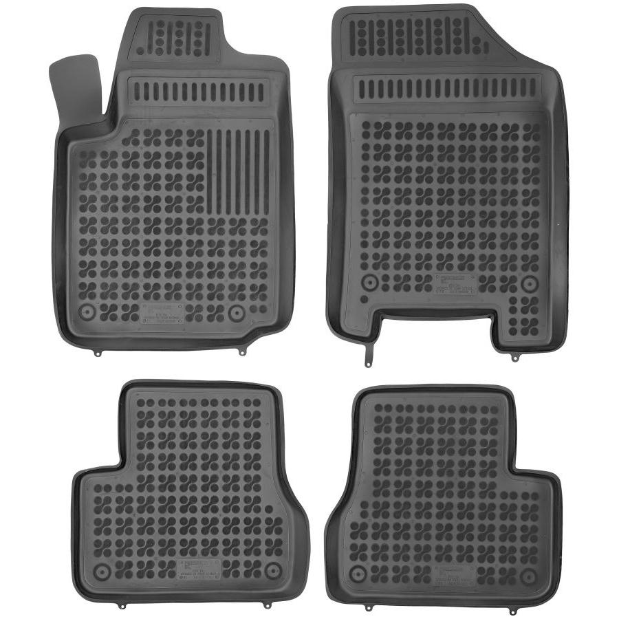 Guminiai kilimėliai CITROEN C3 2002-2009 su vieta gesintuvui (Paaukštintais kraštais)