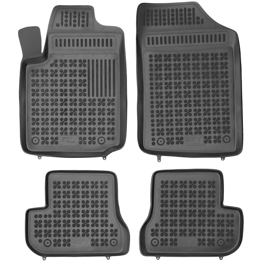 Guminiai kilimėliai CITROEN C2 2003-2009 (Paaukštintais kraštais)