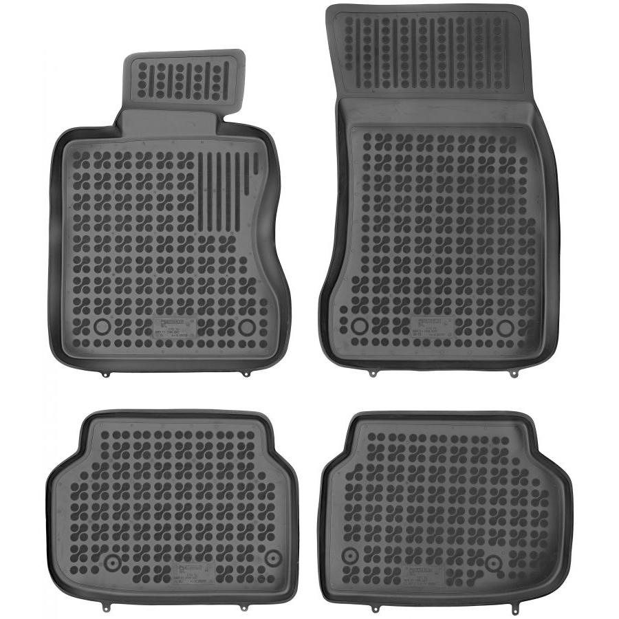 Guminiai kilimėliai BMW 7 (F01) 2007-2015 (Paaukštintais kraštais)