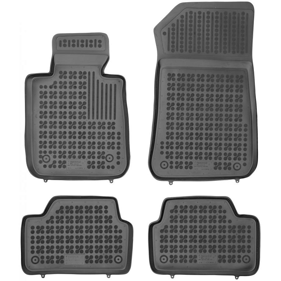 Guminiai kilimėliai BMW 1 E87 2004-2011 (Paaukštintais kraštais)