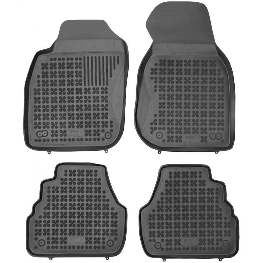 Guminiai kilimėliai AUDI A6 (C5) 1997-2004 (Paaukštintais kraštais)