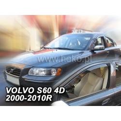 Vėjo deflektoriai VOLVO S60 2000-2010 (Priekinėms durims)