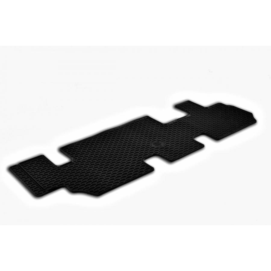 Guminiai kilimėliai VOLKSWAGEN Caravelle 2015→ (Trečia eilė, juodos spalvos)