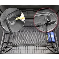 Guminis bagažinės kilimėlis Pro-Line PEUGEOT 5008 2009-2017 (Su 3-ia sėdynių eile, Su skyreliais daiktams)