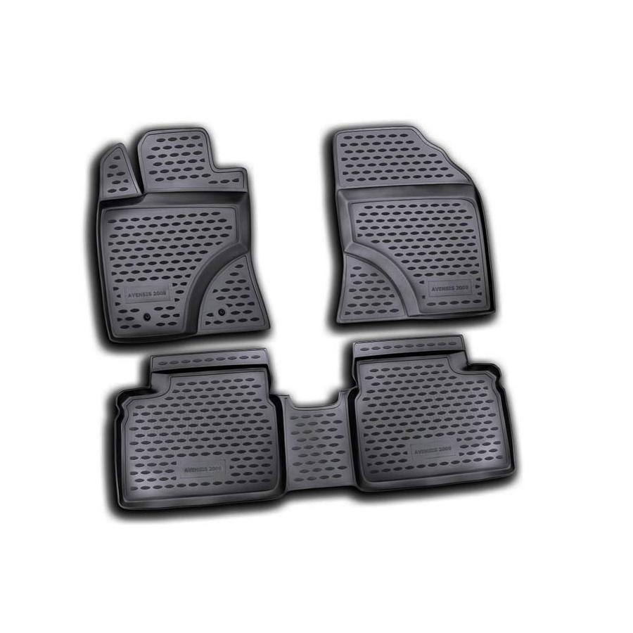 Guminiai kilimėliai TOYOTA Avensis 2009-2015 (pakeltais kraštais)