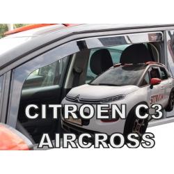 Vėjo deflektoriai CITROEN C3 Aircross 2017→ (Priekinėms durims)