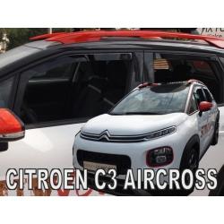 Vėjo deflektoriai CITROEN C3 Aircross 2017→ (Priekinėms ir galinėms durims)