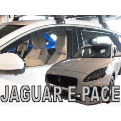 Vėjo deflektoriai JAGUAR E-Pace 2018→ (Priekinėms ir galinėms durims)