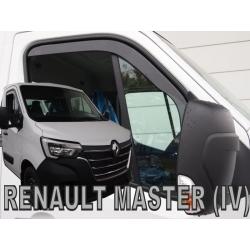 Vėjo deflektoriai RENAULT Master IV 2019→ (Per visą rėmą, Priekinėms durims)