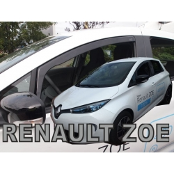 Vėjo deflektoriai RENAULT Zoe 5 durų 2012→ (Priekinėms durims)