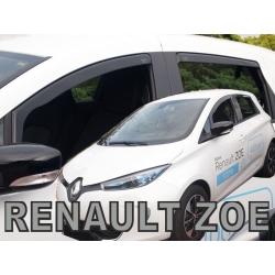 Vėjo deflektoriai RENAULT Zoe 5 durų 2012→ (Priekinėms ir galinėms durims)
