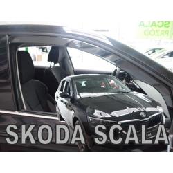 Vėjo deflektoriai SKODA Scala 2019→ (Priekinėms durims)