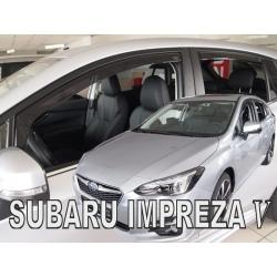 Vėjo deflektoriai SUBARU Impreza V Hatchback 2017→ (Priekinėms ir galinėms durims)