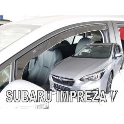 Vėjo deflektoriai SUBARU Impreza V Hatchback 2017→ (Priekinėms durims)