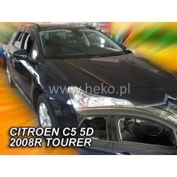 Vėjo deflektoriai CITROEN C5 5 durų Wagon 2008-2017 (Priekinėms ir galinėms durims)