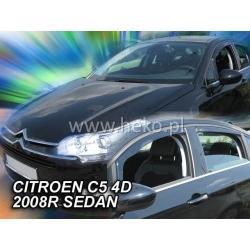 Vėjo deflektoriai CITROEN C5 Sedan 2008-2017 (Priekinėms ir galinėms durims)