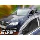 Vėjo deflektoriai VOLKSWAGEN PASSAT B6 4/5 durų 2004-2010 (Priekinėms durims)