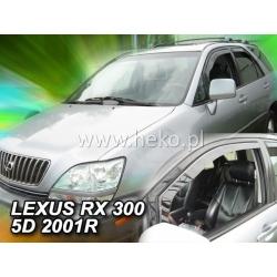 Vėjo deflektoriai LEXUS RX300 (USA vers.) 5 durų 1998-2003 (Priekinėms durims)