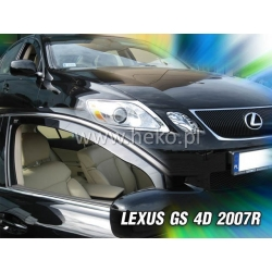 Vėjo deflektoriai LEXUS GS 4 durų 2007-2013 (Priekinėms durims)