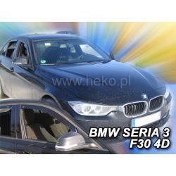 Vėjo deflektoriai BMW 3 F30 4 durų 2011-2018 (Priekinėms durims)
