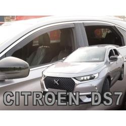 Vėjo deflektoriai CITROEN DS7 Crossback 2018→ (Priekinėms ir galinėms durims)