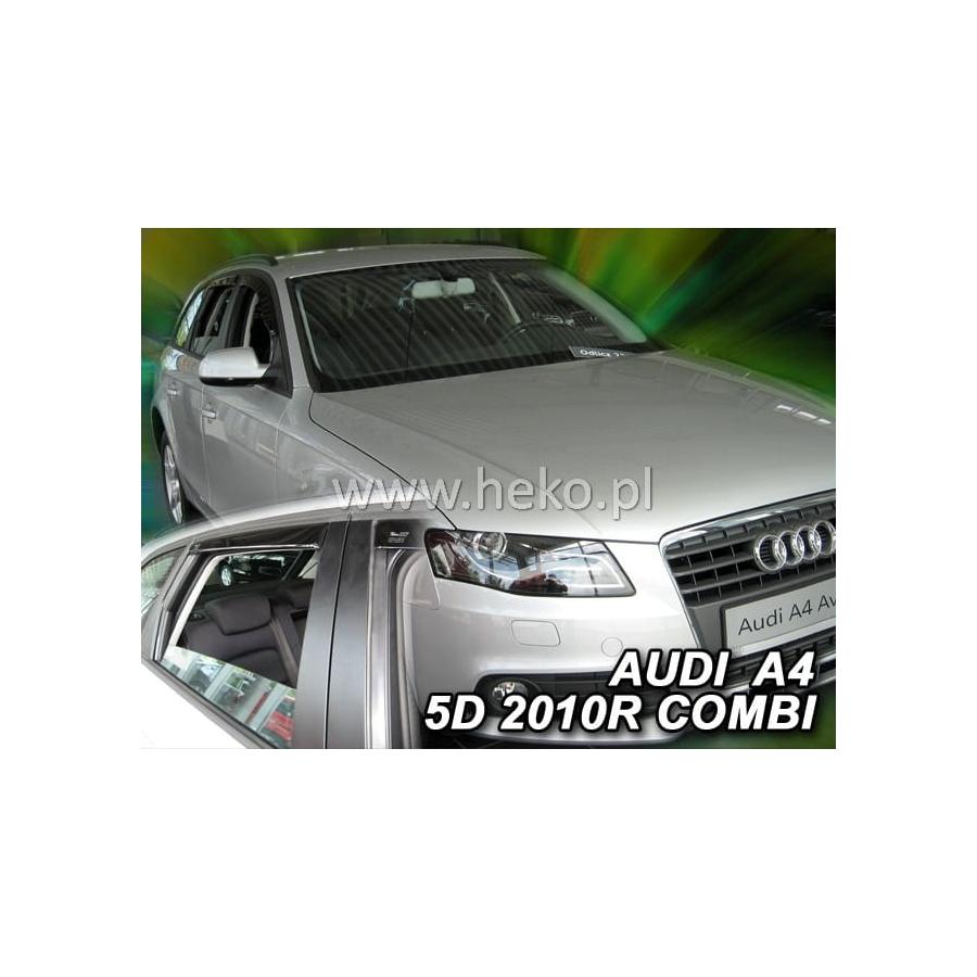 Vėjo deflektoriai AUDI A4 (B8) Wagon 2009-2015 (Priekinėms ir galinėms durims)