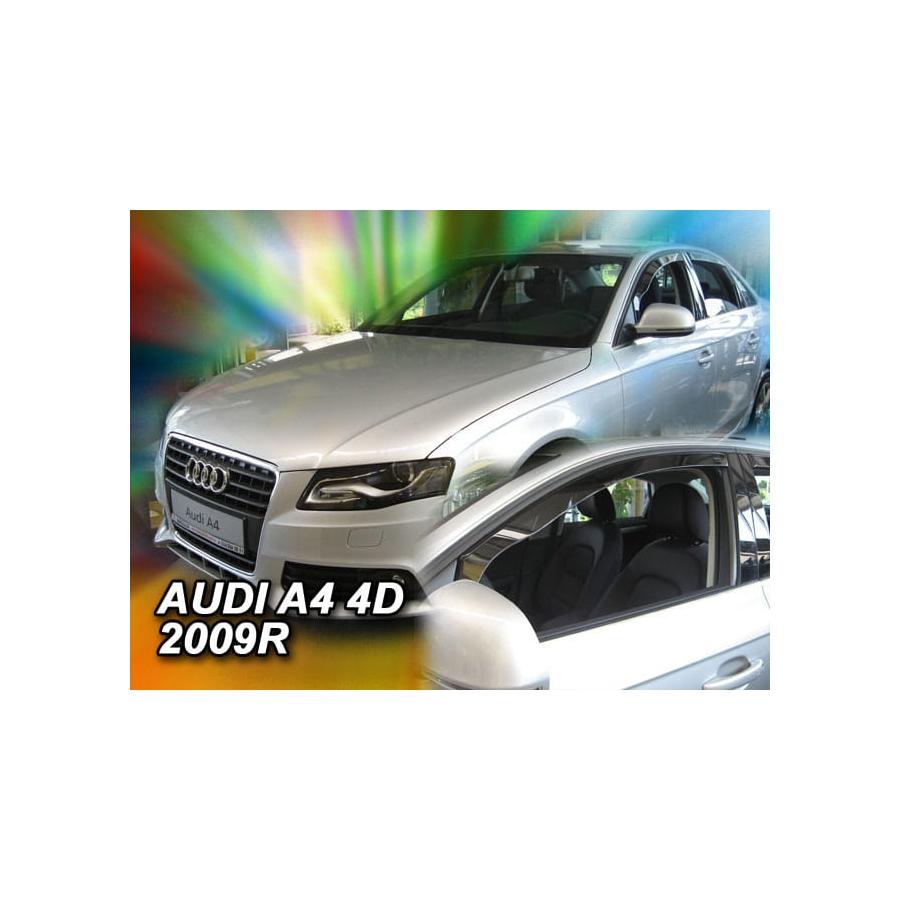 Vėjo deflektoriai AUDI A4 (B8) Sedan 2009-2015 (Priekinėms ir galinėms durims)