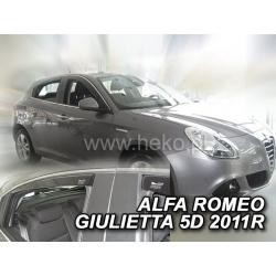Vėjo deflektoriai ALFA ROMEO GIULIETTA 5 durų 2012→ (Priekinėms ir galinėms durims)