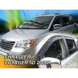 Vėjo deflektoriai CHRYSLER VOYAGER 2012→ (Priekinėms ir galinėms durims)