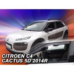 Vėjo deflektoriai CITROEN C4 CACTUS 2014→ (Priekinėms durims)
