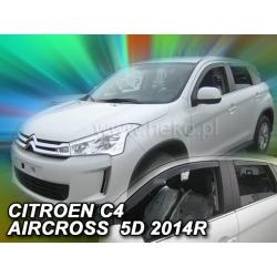 Vėjo deflektoriai CITROEN C4 AIRCROSS 2012→ (Priekinėms ir galinėms durims)