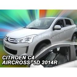 Vėjo deflektoriai CITROEN C4 AIRCROSS 2012→ (Priekinėms durims)
