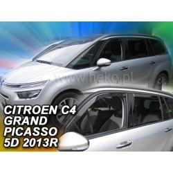 Vėjo deflektoriai CITROEN C4 GRAND PICASSO 2013→ (Priekinėms ir galinėms durims)