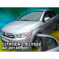 Vėjo deflektoriai CITROEN C-ELYSSE 4 durų 2013→ (Priekinėms ir galinėms durims)