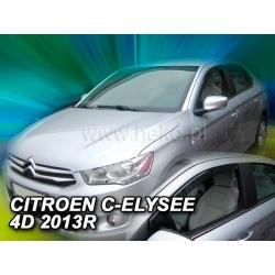 Vėjo deflektoriai CITROEN C-ELYSSE 4 durų 2013→ (Priekinėms durims)