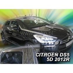 Vėjo deflektoriai CITROEN DS5 5 durų 2012→ (Priekinėms ir galinėms durims)