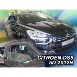 Vėjo deflektoriai CITROEN DS5 5 durų 2012→ (Priekinėms durims)