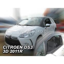 Vėjo deflektoriai CITROEN DS3 3 durų 2010→ (Priekinėms durims)