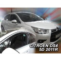 Vėjo deflektoriai CITROEN DS4 5 durų 2011→ (Priekinėms durims)